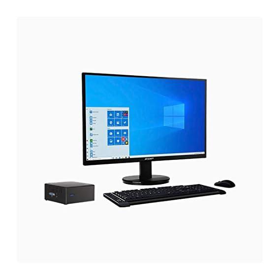 Intel NUC Kit - BXNUC10I7FNH and Monitor Combo