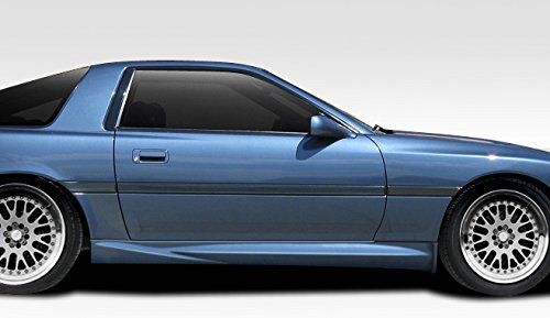 Duraflex ED-CTM-781 AB-F Side Skirt Rocker Panels - 2 Piece Body Kit - Compatible For Toyota Supra 1986-1992