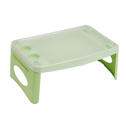 wholesale dealer 5fe3b f5711 Amazon.com: DQMSB Plastic Folding Simple Lazy Table Bed ...