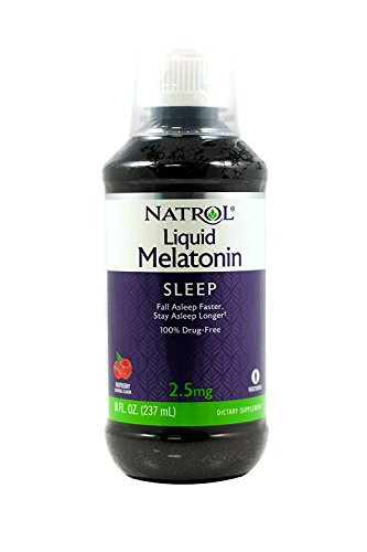 Natrol Melatonin 2.5 mg Liquid 8 oz (Pack of 3) - Natrol Liquid Melatonin
