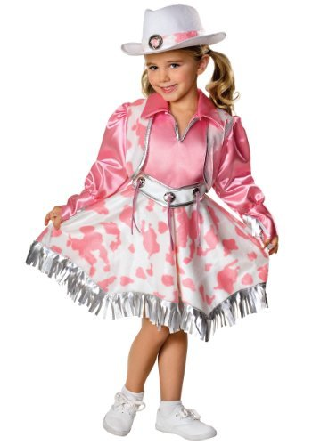 Rubies Let's Pretend Collection Western Diva Costume, Small (Country And Western Costumes)