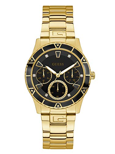 GUESS Men's Quartz Stainless Steel Watch, Color:Gold-Toned (Model: U1158L1)