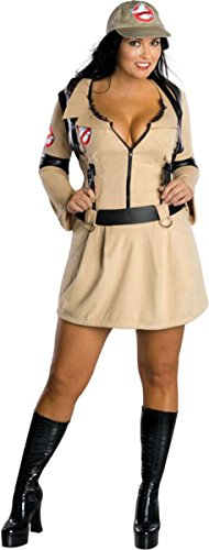 [Morris Costumes Women's Ghostbusters Female Costume, 16-20] (Ghostbusters Plus Size Costumes)