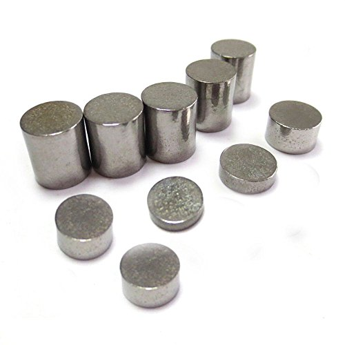 Tungsten Kit - Pinewood Derby Car Tungsten Weights - 3.50 oz Set Incremental and Configurable Weights