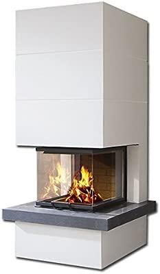 Chimenea CAMINA del horno S14 9 kW chimenea para montar: Amazon.es ...