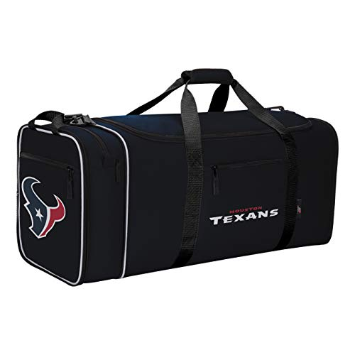 NFL Houston Texans NFL Steal Duffel, Navy, Measures 28'' in Length, 11'' in Width & 12'' in Height by The Northwest Company (Image #2)