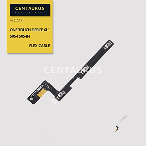for Alcatel One Touch Fierce XL LTE 5054 5054N Power on/Off Volume Flex Cable Replacement (Parts Touch Alcatel One Fierce)
