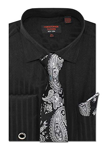 Christopher Tanner Men's Regular Fit Dress Shirts