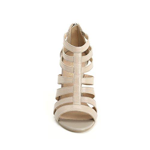 ALESYA by Scarpe&Scarpe - Sandalias altas con bandas Beige