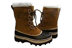Sorel Womens Caribou Black/Stone Boots
