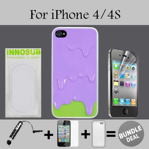 iphone 4 melting ice cream case - 7