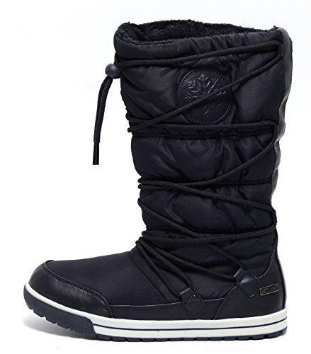 Damen Winter Thermostiefel navy Gr. 37-41 Winterstiefel Stiefel Schnee Schuhe