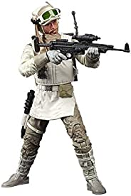 Star Wars The Black Series Rebel Trooper (Hoth) Toy 6-Inch Scale The Empire Strikes Back Collectible Figure, K