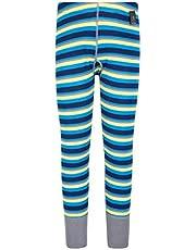 Mountain Warehouse Pantalón térmico de Lana Merino para niños - Mallas con Rayas, Transpirables, Ligeras, antibacterianas - Pantalones Frescos
