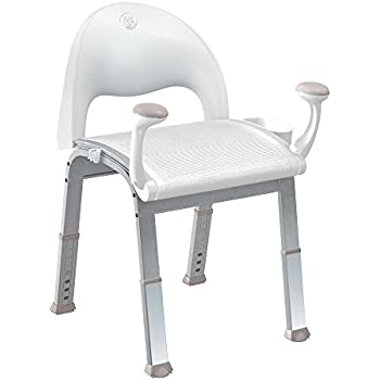 Amazon Com Shower Chair With Back By Vive Bathtub Chair