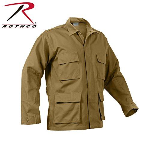 Rothco BDU Shirt, Coyote, Large