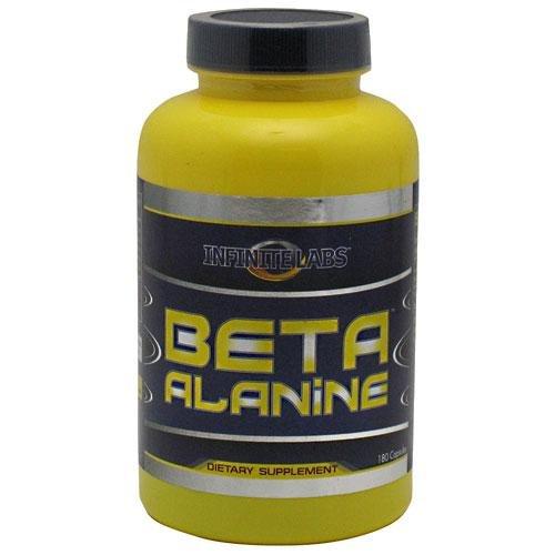 Labs infinies Beta Alanine Capsules, 180-Count