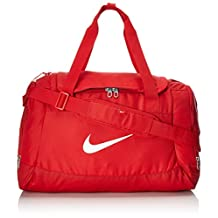 NIKE sports bag Fitness Club Team Swoosh Duffel Small 43 liter size. S bag, color:Rot
