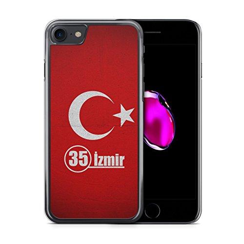Izmir 35 Türkiye Türkei iPhone 7 Hardcase Hülle Cover Case Handyhülle Tasche Turkey Bayrak