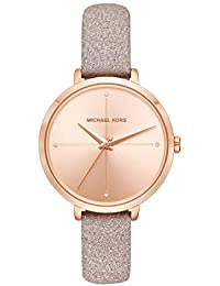 Women's Charley Rose Gold Leather Watch MK2794