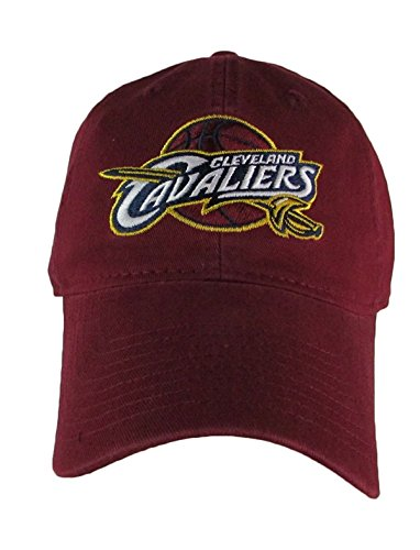 adidas NBA Cleveland Cavaliers, Snap Back Slouch Adjustable Cap, One Size, Burgundy
