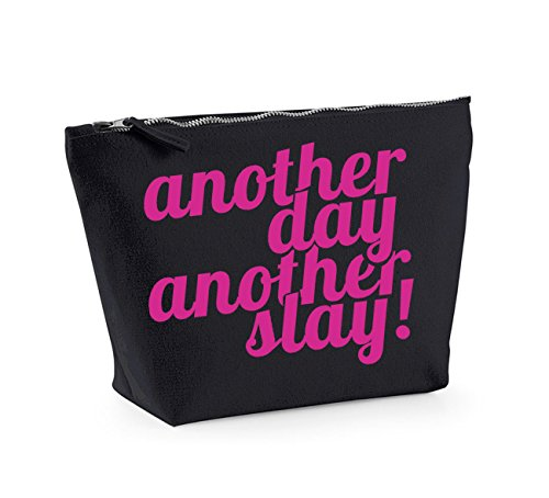 Organiser Cosmetics Up Make Accessory Day fuschia Black Bag And Print Kelham Slay Another a0ZxHH