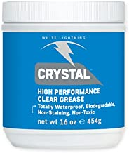 White Lightning Crystal Grease Biodegradable, Non-Toxic Grease, 1-Pound Tub