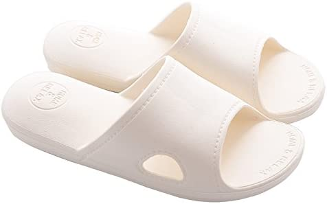 Unisex Skid-Proof Shower Slippers Soft Sole Beach Slide Sandal for Boys Girls