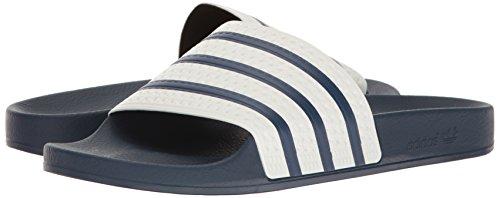 Bleu Adidas Originals Mules Adilette Pour Blanc Homme X4xzwq