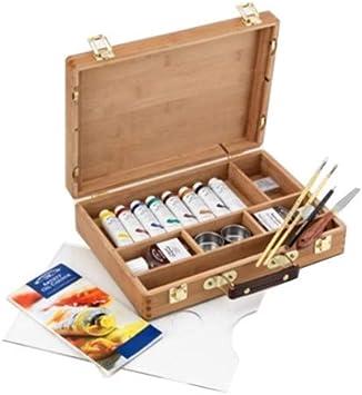 Winsor & Newton Artists - Juego de pinturas y accesorios para ...