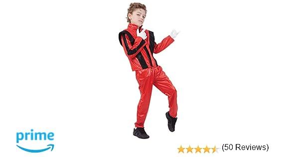 Bristol Novelty CC817 Pantalones/Chaqueta de Super Estrella, Pequeño, Rojo, Edad aprox 3 -5 años