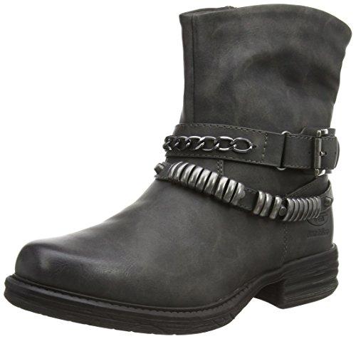 Dockers 36KA304 - botas de caño bajo de material sintético mujer gris - Grau (dunkelgrau 220)
