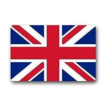 "British Flag Door Mat The Union Jack Flag Doormat Rugs for Home/Office/Bedroom Rubber Non Slip 23.6""(L) x 15.7""(W)"
