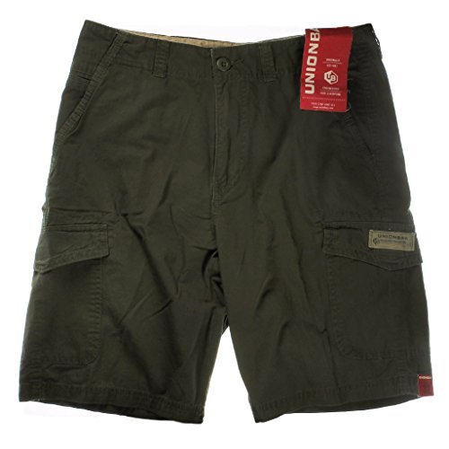 Unionbay Mens Cargo Shorts (Archer Green, 32) by UNIONBAY