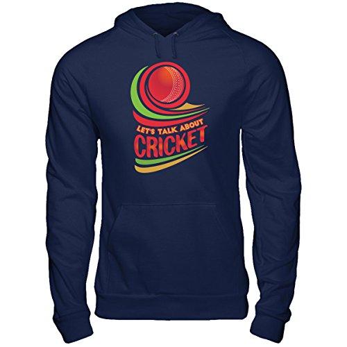 DoozyGifts99 Talk About Cricket-Men Women Indian Australian Hoodie ()