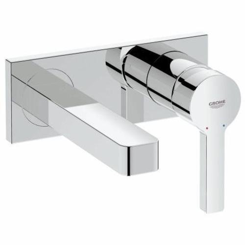 Grohe Lineare 19409000 Wall Mounted 2-Hole Basin Mixer - Chrome Finish