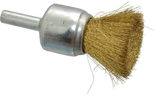 Anderson 3//4 Diam Crimped End Brush 1//4 Shank Diam 22,000 Max RPM