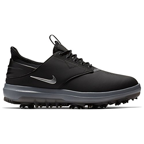 Nike Air Zoom Direct Classic Golf Shoes 2018 Black/Metallic Silver Wide 13