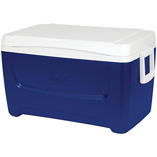 Igloo Products Corporation 000444717 Island Breeze Cooler, 48 quart, Majestic Blue