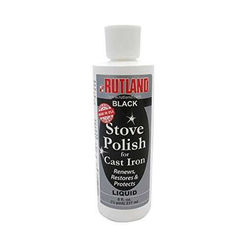 Rutland Products Stove & Grill Liquid Stove Polish, 8 fl oz, -