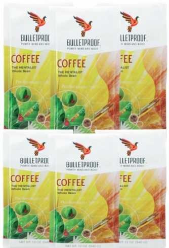 Bulletproof Coffee - Mentalist - Unhurt Bean - Case Of 6 - 12 Oz