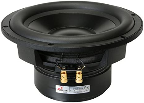 "Dayton Audio RSS265HF-4 10/"" Reference HF Subwoofer 4 Ohm"