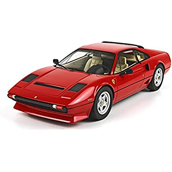 1982 Ferrari 208 GTB Turbo Scale Model Car in 1:18 Scale by BBR