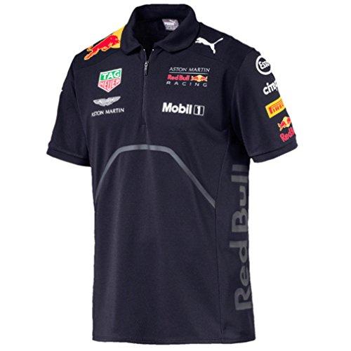 Red Bull Racing Men's 2018 Team Polo Shirt (X-Large) (Polo Racing Mens)