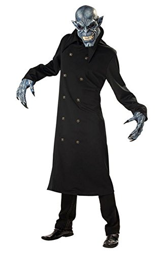 Mememall Fashion Zombie Night Fiend Adult Costume (Zombie Cowgirl Costumes)