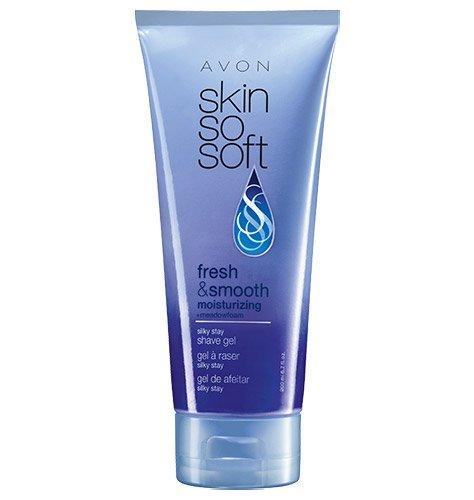 Avon Skin So Soft Fresh & Smooth Moisturizing shave gel
