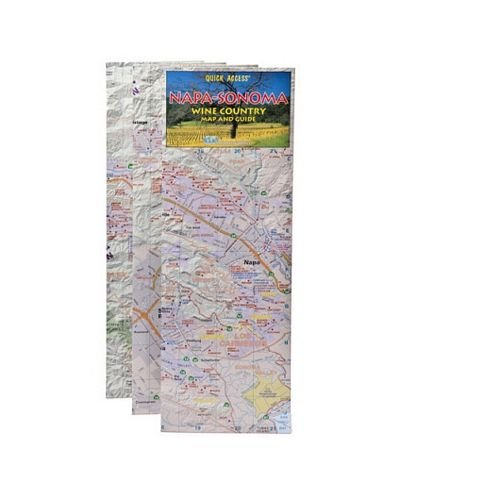 Napa and Sonoma Wine Country Map And (Napa Kitchen Center)