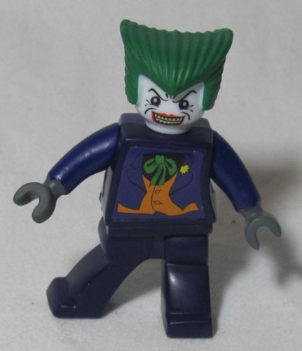 Lego Batman Joker Exclusive Minifig with Harley Quinn Accessory From Mcdonalds 2008