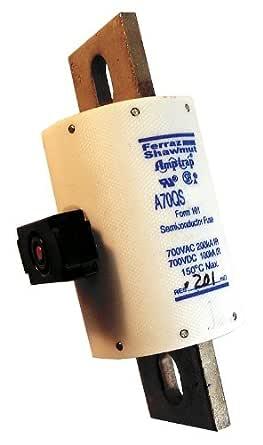 700 VAC 200KA A70QS600-4 700VDC 100KA FERRAZ SHAWMUT SEMICONDUCTOR FUSE