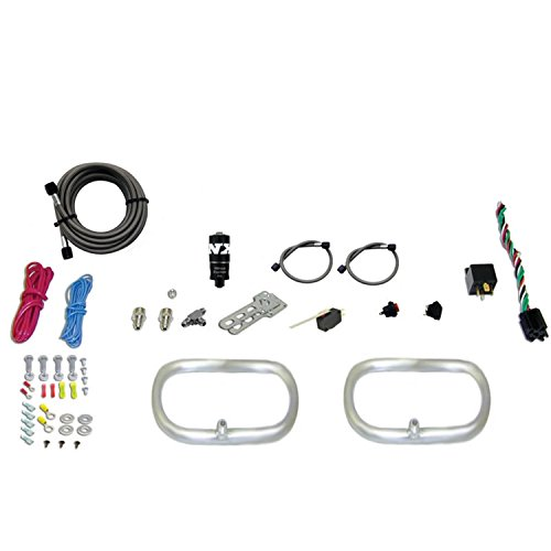 Nitrous Express 22200-00 Dual N-tercooler Ring System with Two 6